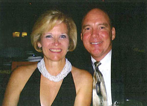 Don Hall and his wife
