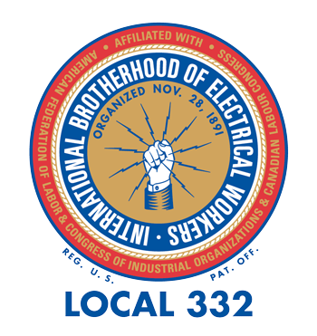 IBEW Local Union 332 logo