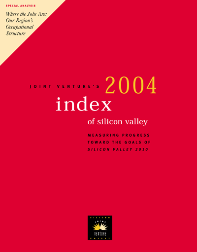 2004 Silicon Valley Index cover