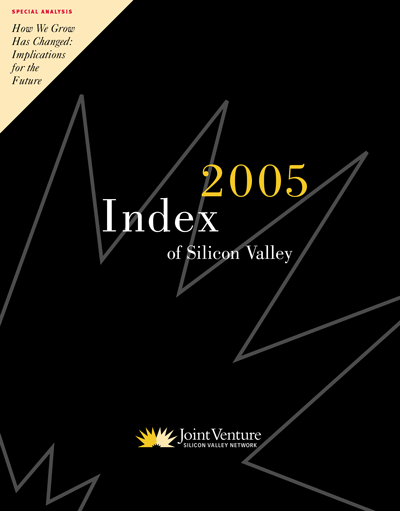 2005 Silicon Valley Index cover