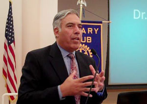 Mo Qayoumi at Rotary