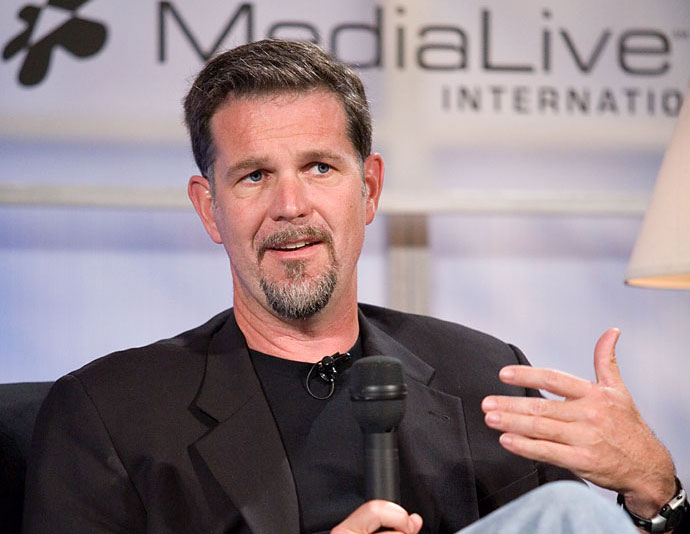 Reed Hastings photo