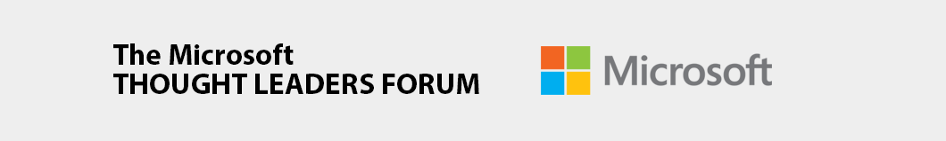 The Microsoft Thought Leaders Forum