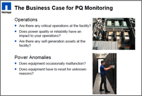The business case for PQ monitoring