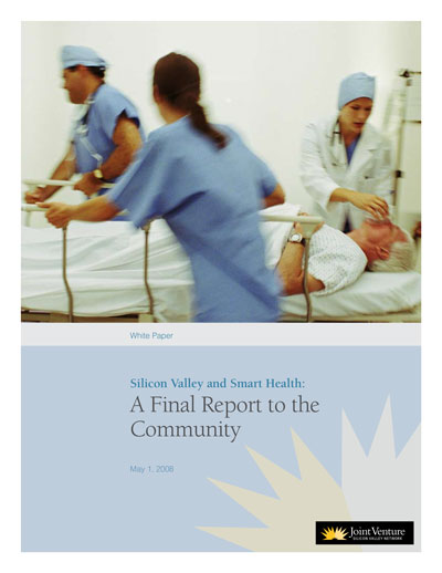 report cover with photo of emergency room medical staff